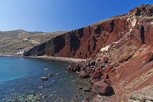 Griechenland, Santorini, Red Beach - [Nr.: santorini-red-beach-001.jpg] - © 2017 www.drescher.it