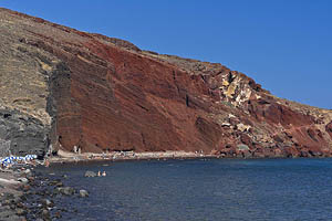 Griechenland, Santorini, Red Beach - [Nr.: santorini-red-beach-005.jpg] - © 2017 www.drescher.it