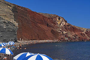Santorini, Red Beach - [Nr.: santorini-red-beach-015.jpg] - © 2017 www.drescher.it